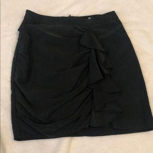 Slate gray skirt